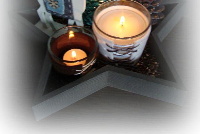 Adventsbasteln Teil 2: Geschnürte Kerzenhülle