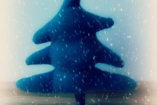 Adventsbasteln Teil 3: Stofftannenbaum
