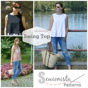Sewionista Patterns - Swing Top - kostenloses Schnittmuster - free pattern