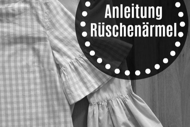 Anleitung – Rüschenärmel für die Grande Arche Bluse/Kleid