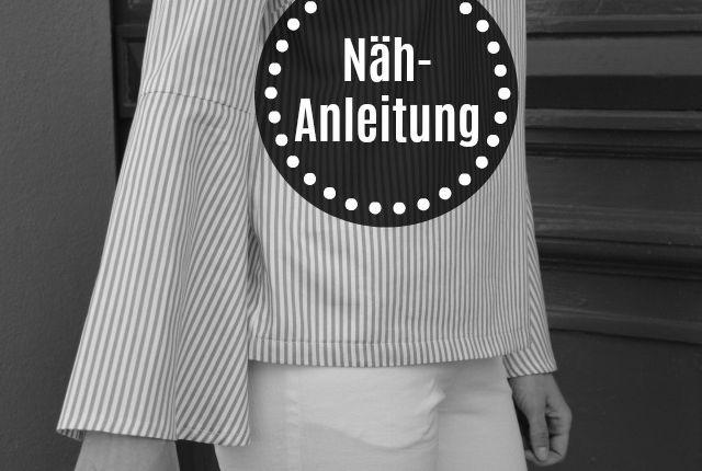 (Deutsch) Nähanleitung – Grande Arche Bluse/Kleid Trompetenärmel