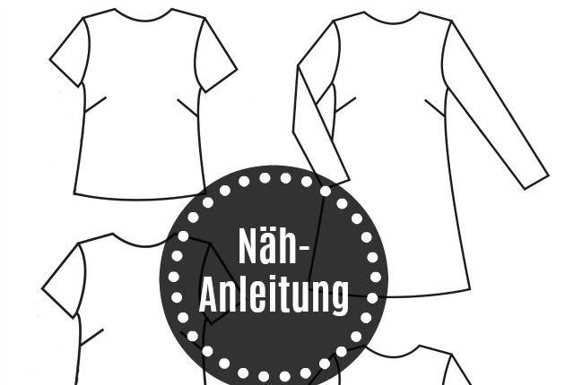 (Deutsch) Nähanleitung – Grande Arche Bluse/Kleid Kurz- & Langarm