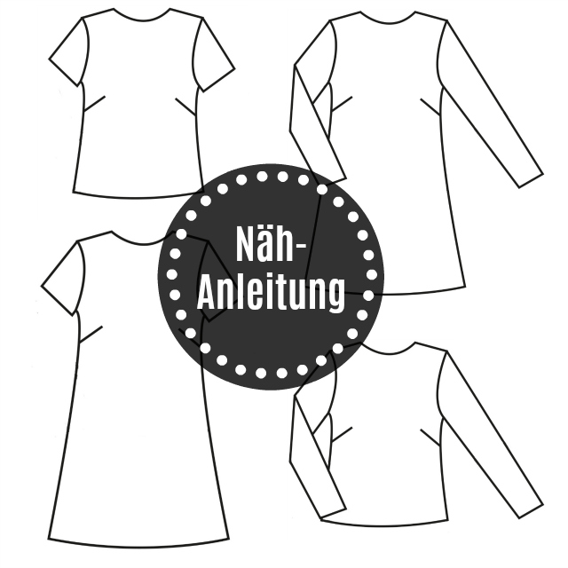 Nähanleitung für Grande Arche Bluse/Kleid mit Kurz- & Langarm von Sewionista Patterns ... Sewionista.com ... Sewing ... Slow Fashion ... DIY ... Blog