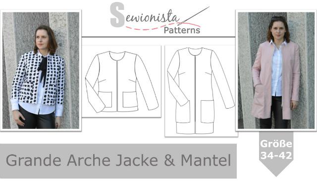 Neue Schnittmuster – Grande Arche Jacke & Mantel