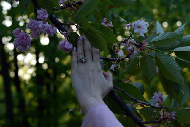Cherry Blossom Pink – Grande Arche Coat