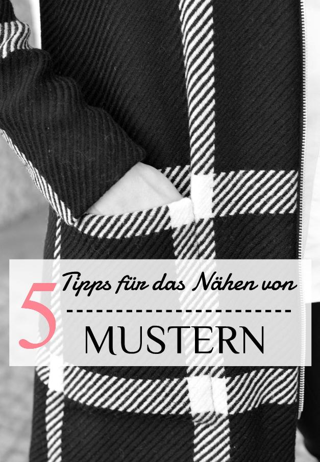 5 Tipps für das Nähen von Mustern - Sewionista