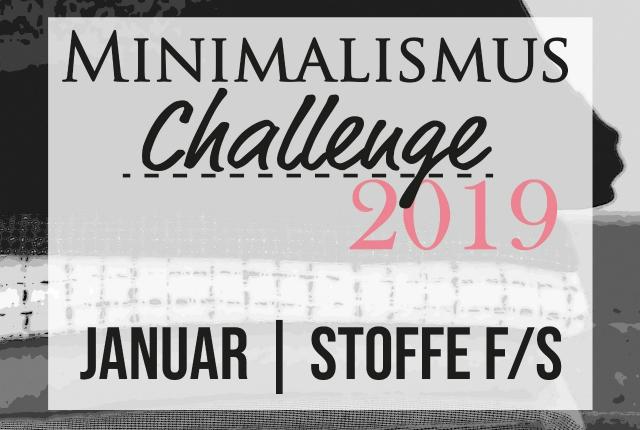 Minimalism Challenge 2019 – January Goals
